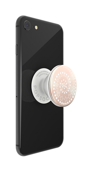 NYHET 🔄 PopSockets - BACKSPIN Starry Eye Aluminium POPGRIP