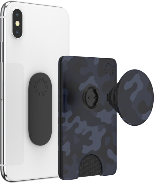 NYHET! PopSockets POPWALLET+ Camo of the Night