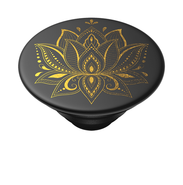 NYHET 🔄 PopSockets - Golden Prana Black POPGRIP