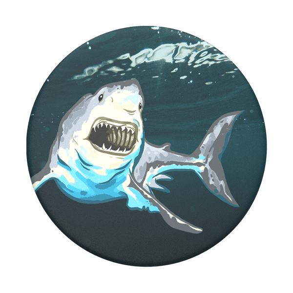 NYHET 🔄 PopSockets - Great White POPGRIP