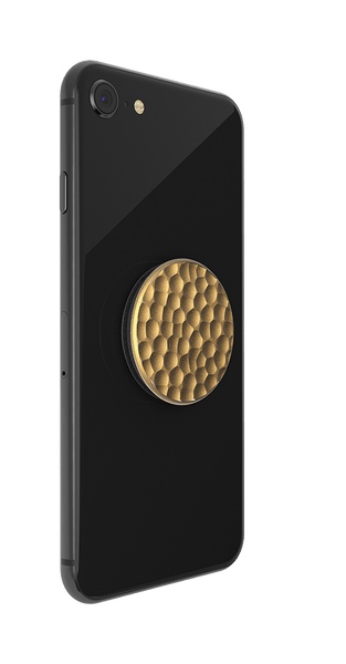 NYHET 🔄 PopSockets - Hammered Metal Gold POPGRIP