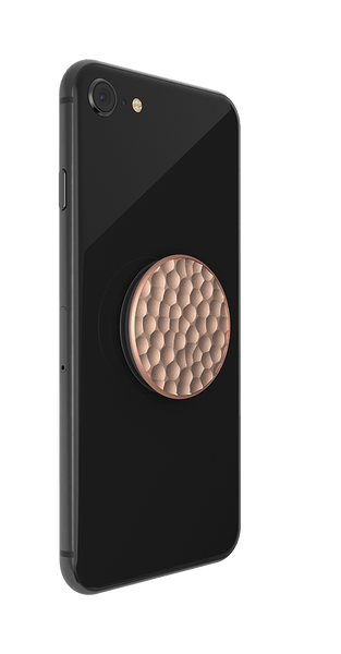 NYHET 🔄 PopSockets - Hammered Metal Rose Gold POPGRIP
