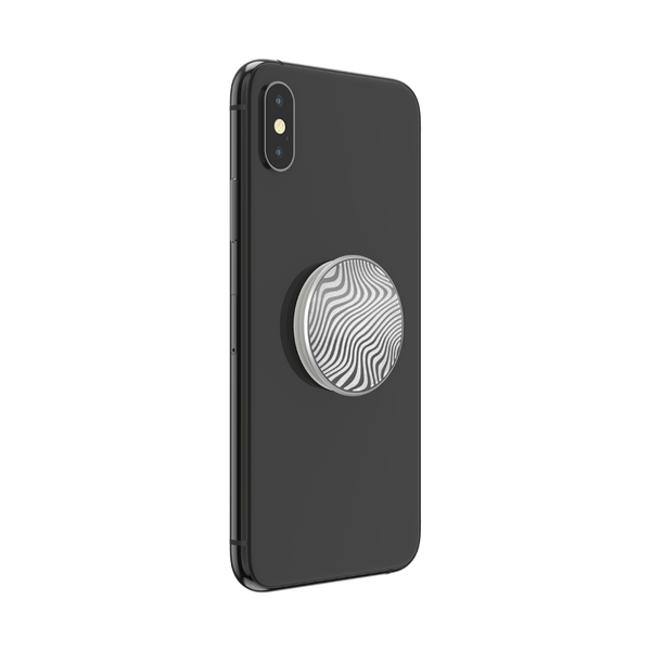NYHET 🔄 PopSockets - Lasercut Metal Trrn Wave POPGRIP