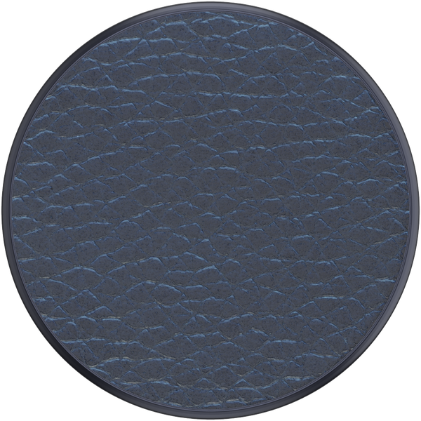 NYHET 🔄 PopSockets - Pebbled Vegan Leather Navy POPGRIP