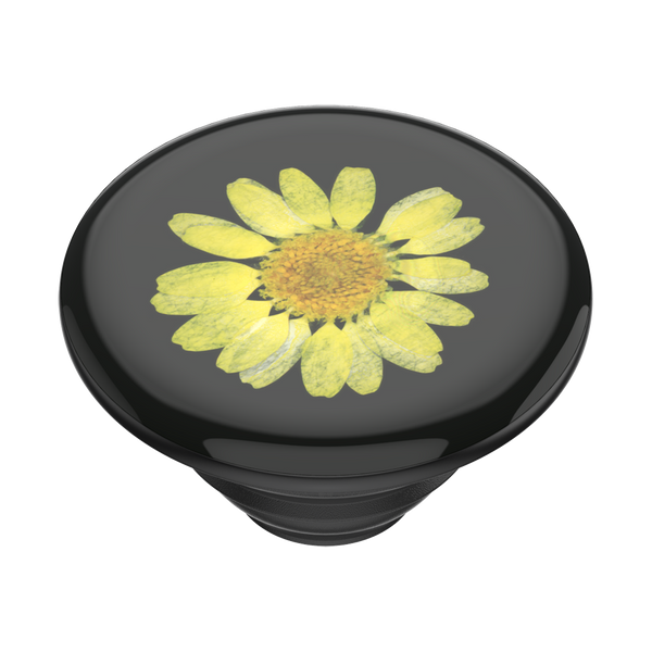 NYHET 🔄 PopSockets - Press Flower Yellow Daisy POPGRIP