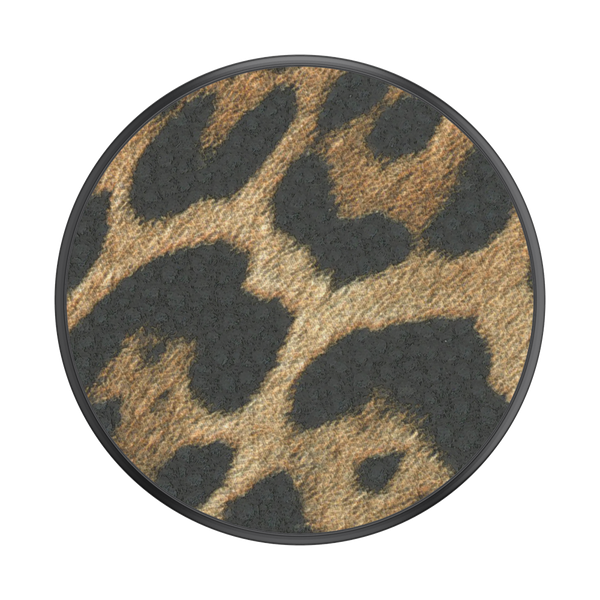 NYHET 🔄 PopSockets - Vegan Leather Leopard POPGRIP
