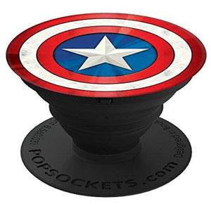 PopSockets Marvel - Captain America Shield Icon - BEGRENSET ANTALL!