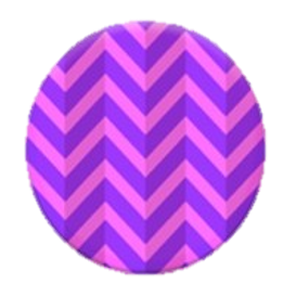 PopSockets Chevron Purple