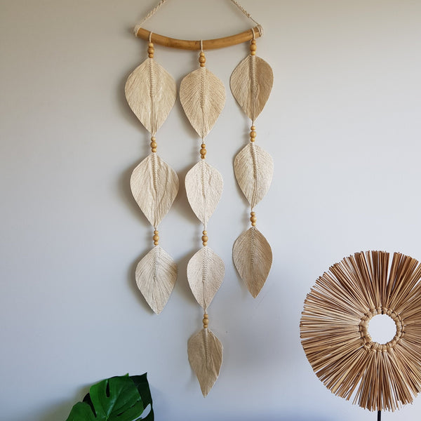 Leaf Wall Hanging Natural