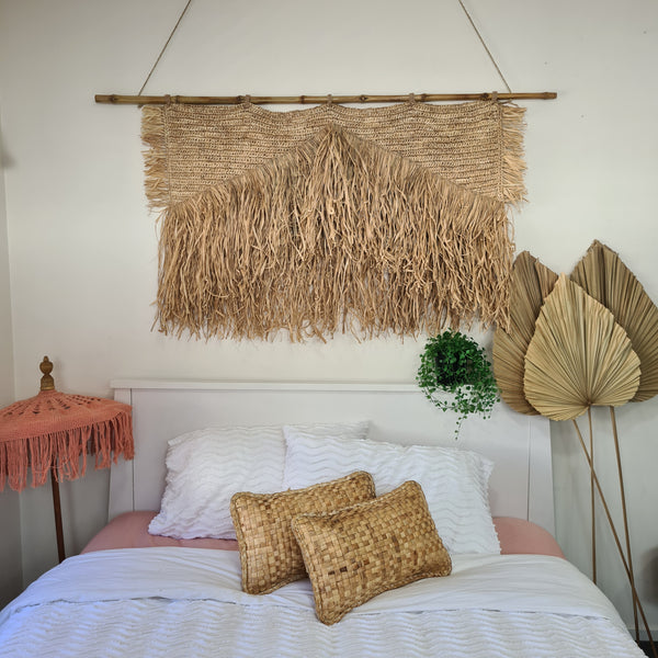 Raffia Wall Hanging DUE APRIL