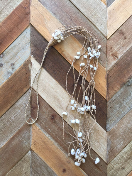 Long Shell Tassle - Bundle of 3