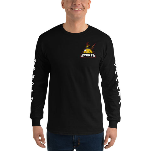 Sparta Long Sleeve T-Shirt (Black)