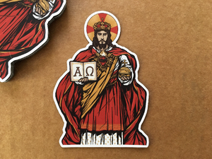 Christ the King Sticker
