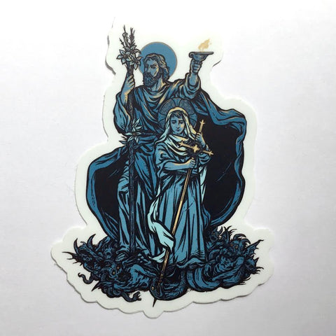 """Terror of Demons"" Sticker"