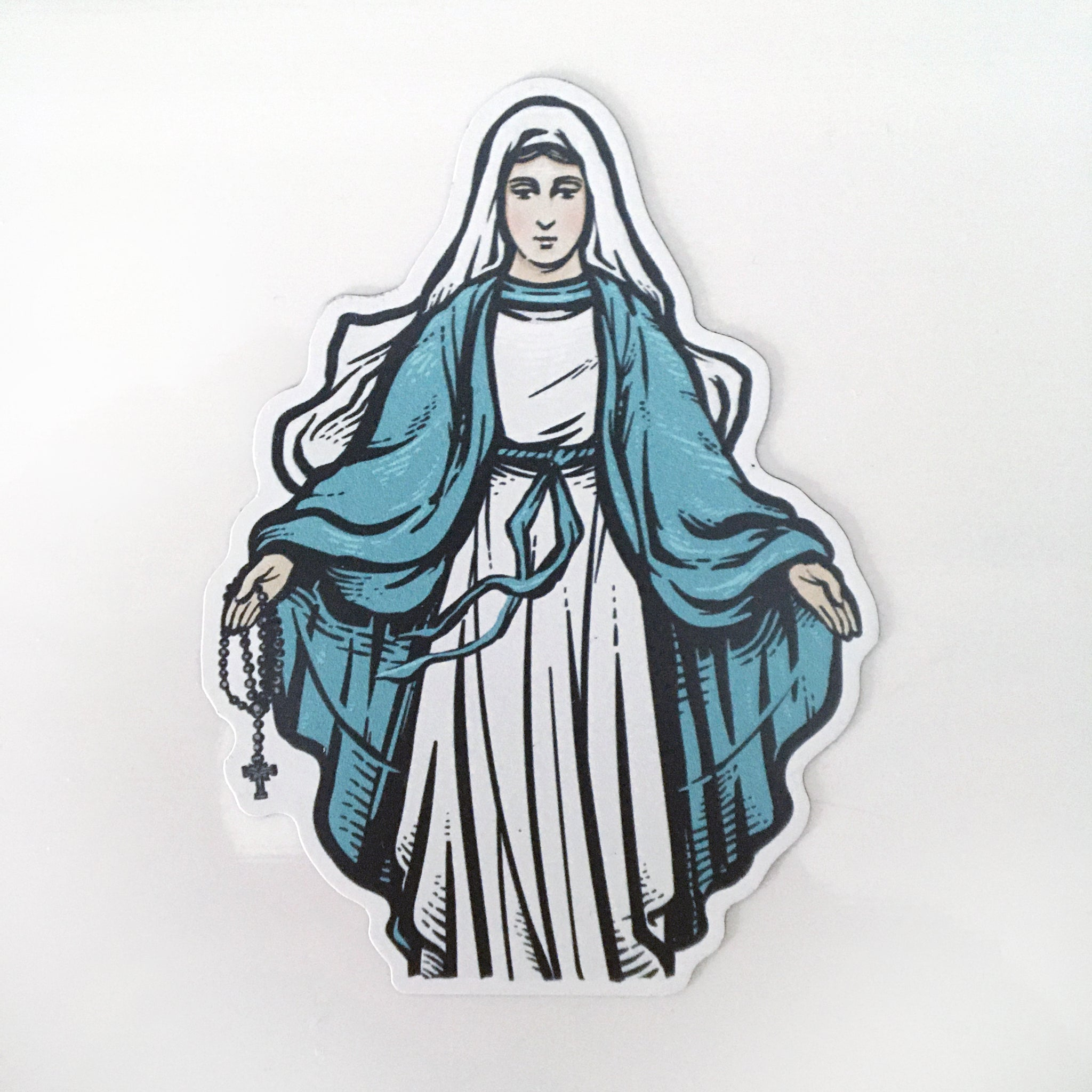 Blessed Mother Magnet