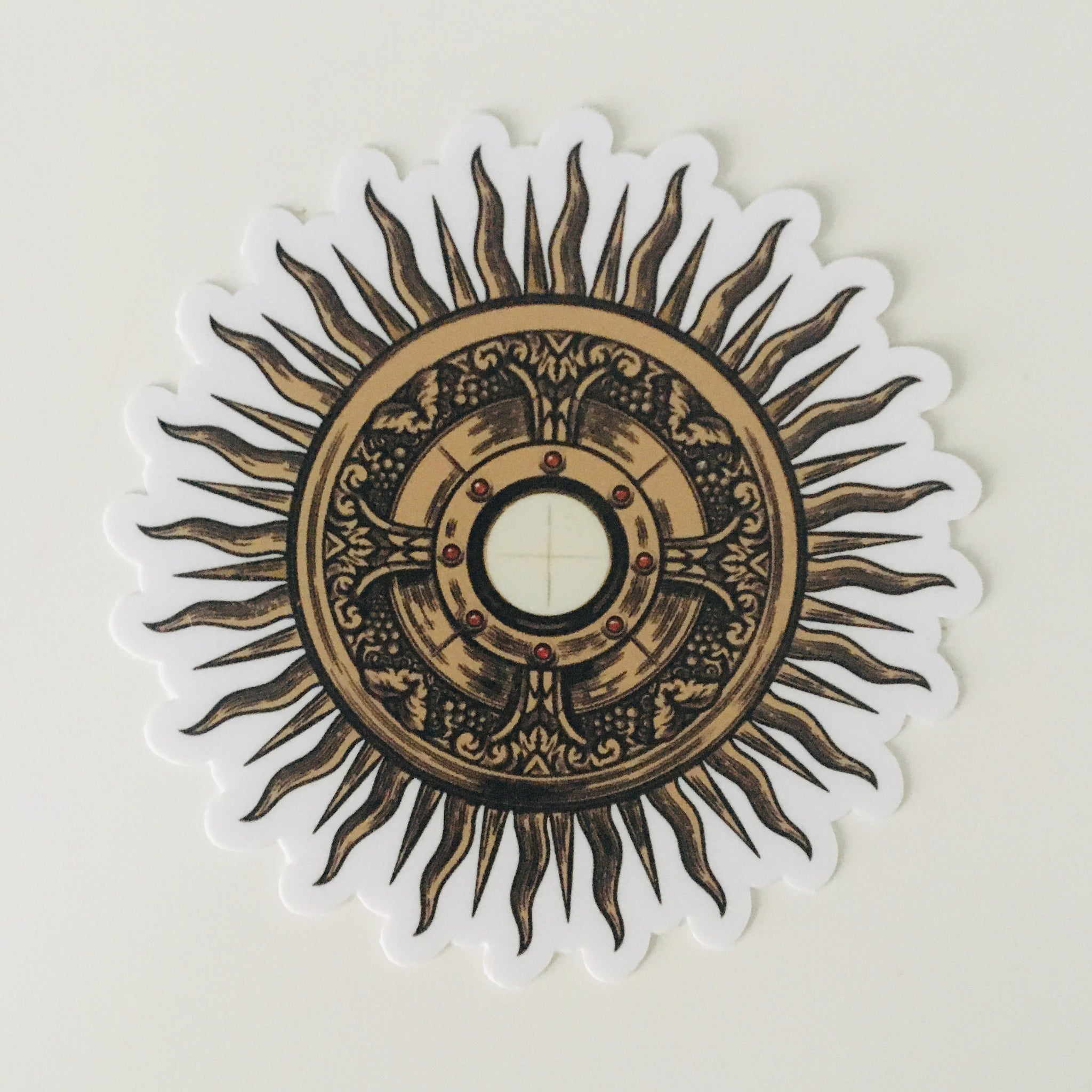 Monstrance Sticker