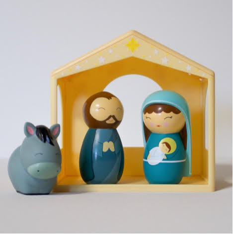 The Holy Family Nativity Set