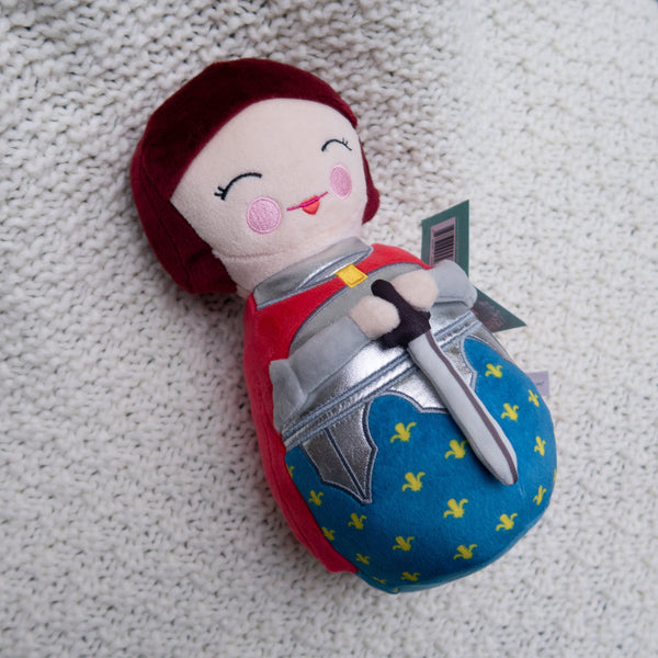 Joan of Arc Plush by Shining Light Dolls
