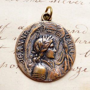 Joan of Arc Battle Flag Medal