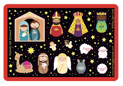 Nativity Sticker Sheet