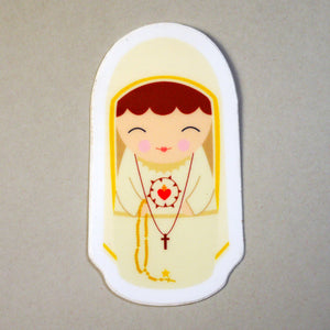 Our Lady of Fatima Sticker
