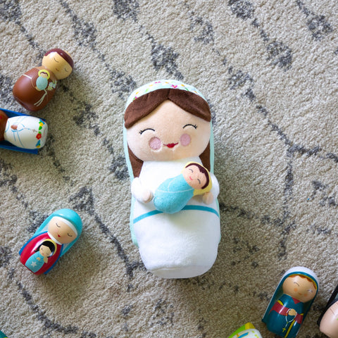 Mother Mary Plush by Shining Light Dolls