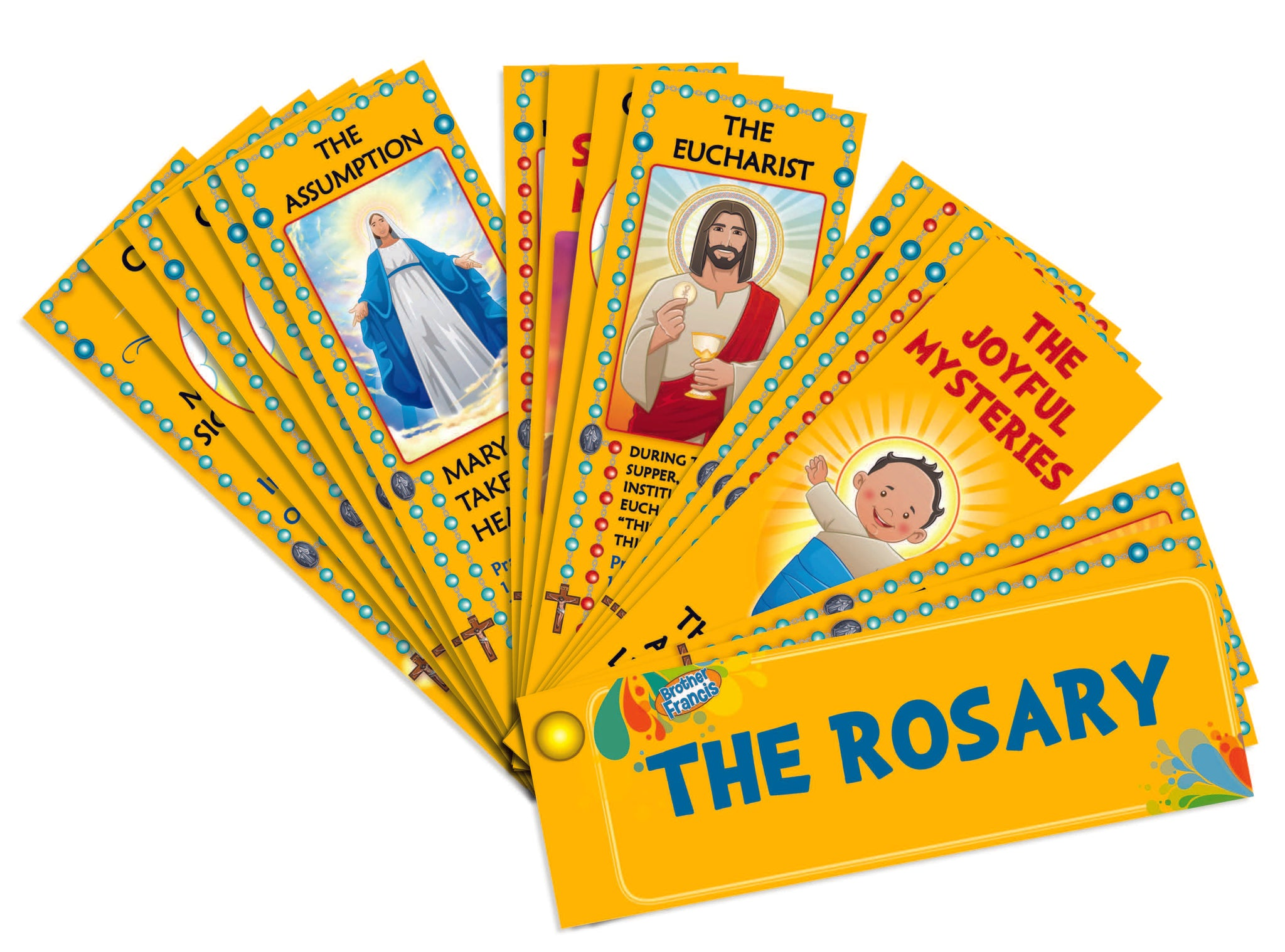 Brother Francis Devotional Fan-The Catholic Rosary Fan