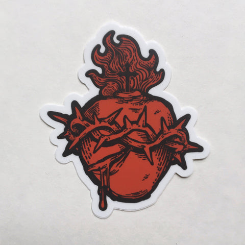 Sacred Heart of Jesus Sticker