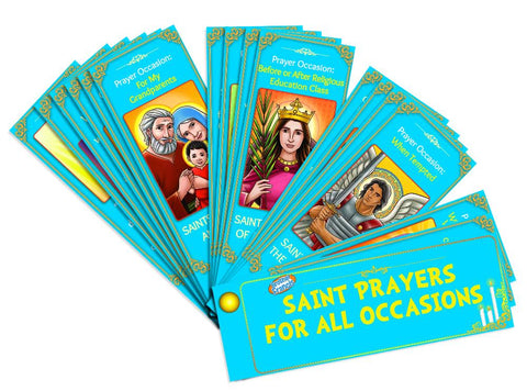 Brother Francis Devotional Fan-Saint Prayers For All Occasions