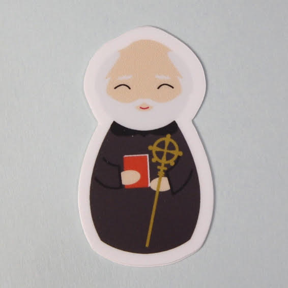St. Benedict Sticker