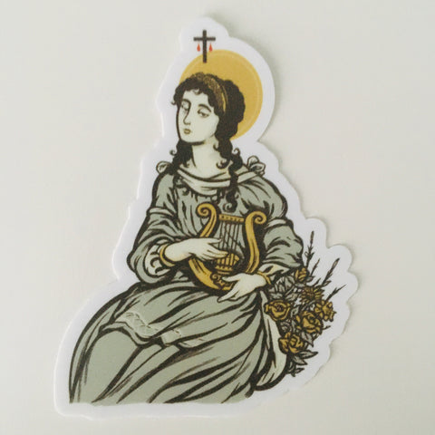St. Cecilia Sticker