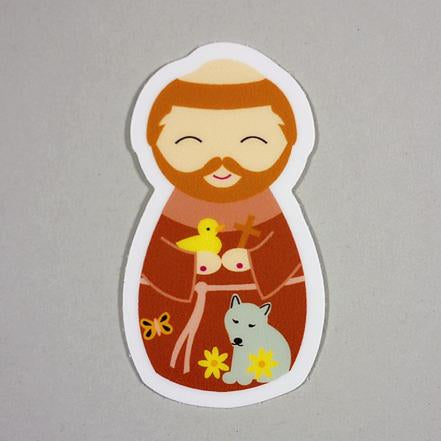 St. Francis of Assisi Sticker