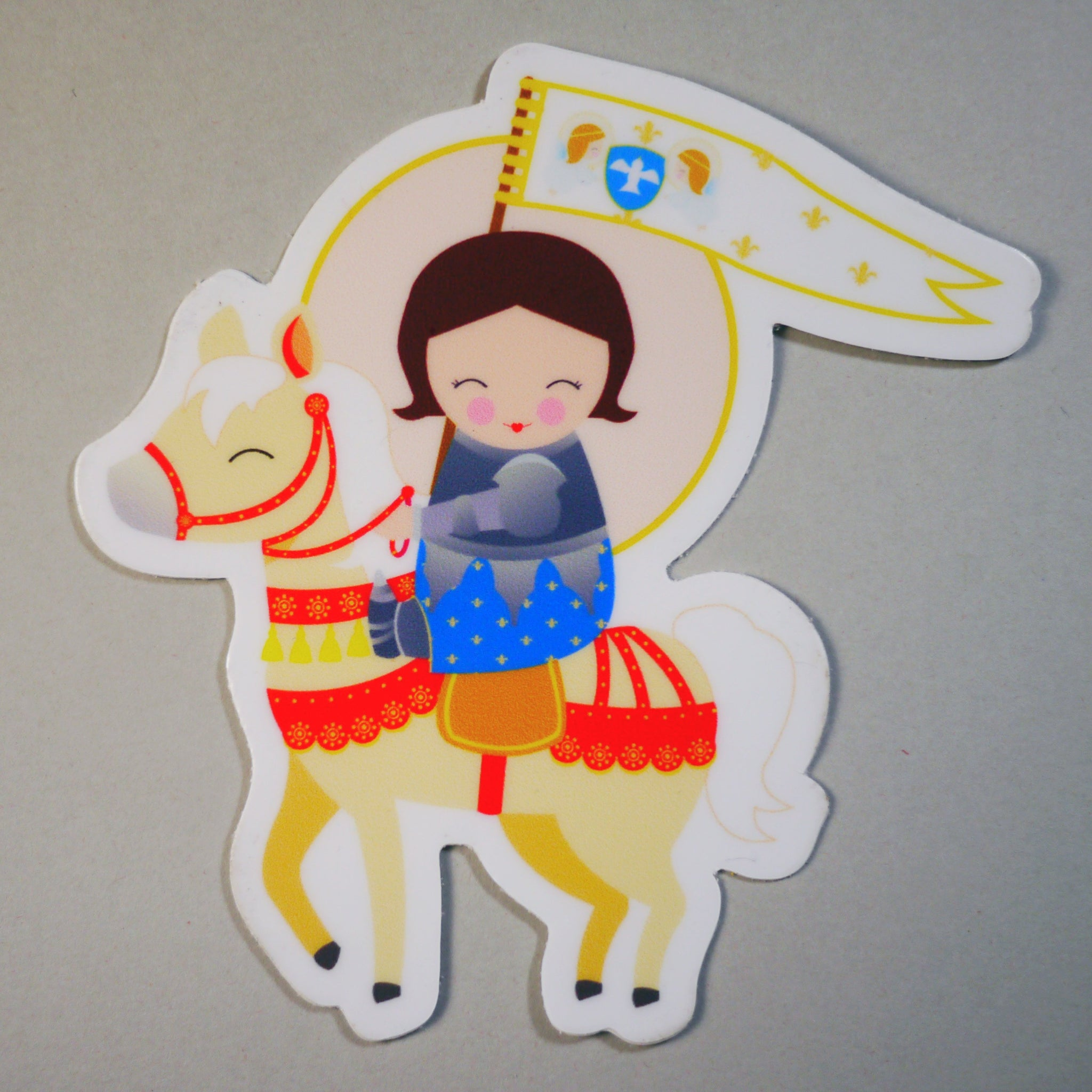 St. Joan of Arc Sticker