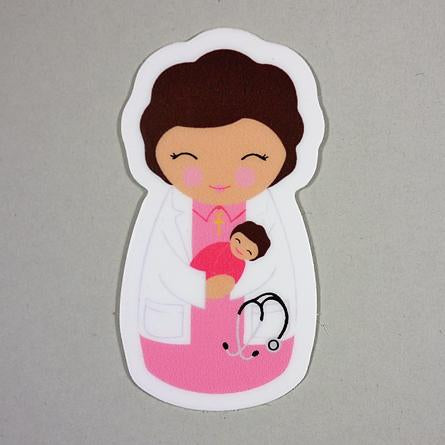 St. Gianna Sticker