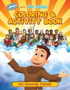 Brother Francis Coloring Book: The Saints