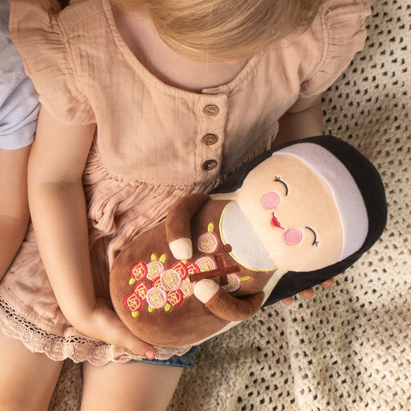 St. Therese of Lisieux Plush by Shining Light Dolls