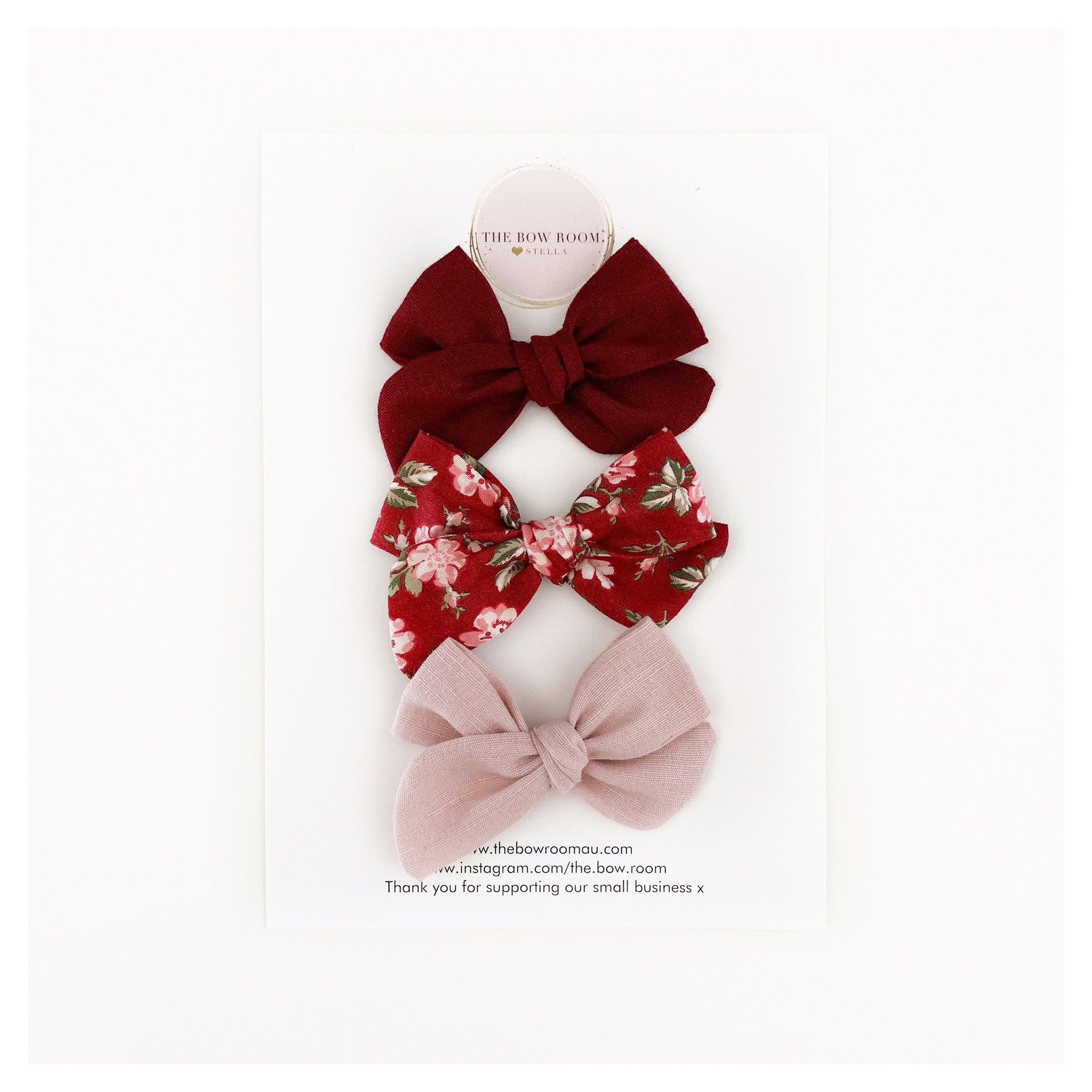 Chloe Madison Bow Set