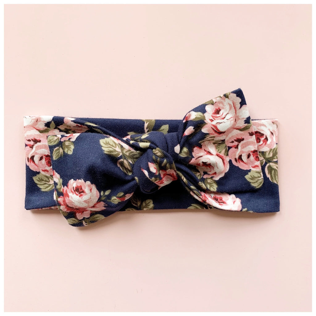 The Charlotte ~ Bow Knot Headband