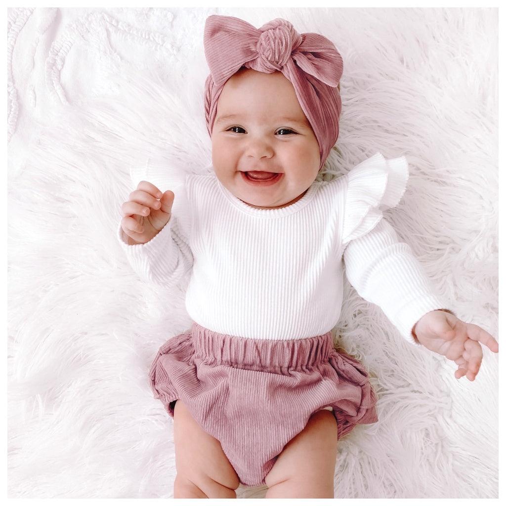 Plush Velvet ~ Bow Knot Headband
