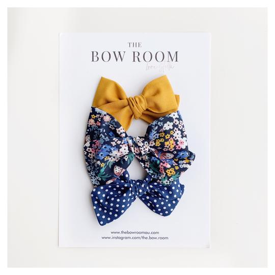Charlie Madison Bow Set