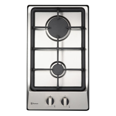 300mm Domino Hob, Gas, Stainless Steel