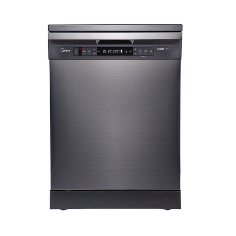 15 Place Setting Dishwasher - Black Steel