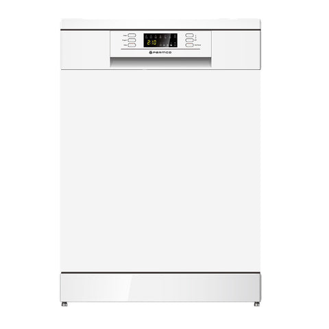 600mm Freestanding Dishwasher, LED Display, White