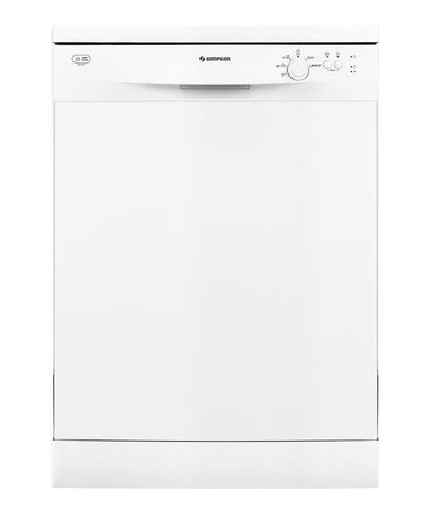 13 Place Setting Freestanding Dishwasher - White