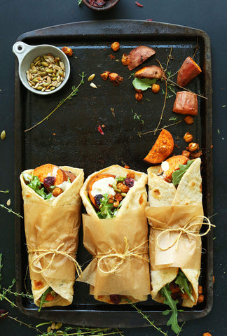 vegan thanksgiving wraps cruelty free holiday meals