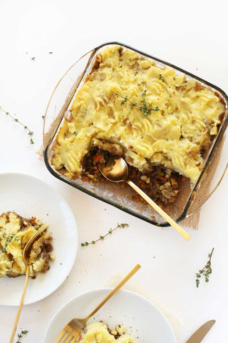 Vegan shepherd's pie best cruelty-free holiday meals