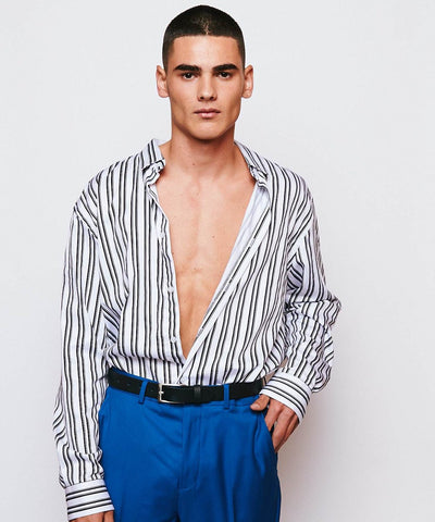 Callao Loose Fit Stripe Shirt