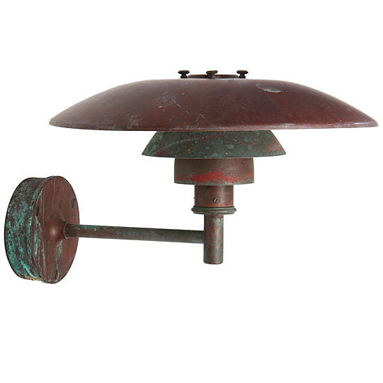 Copper Wall Sconce