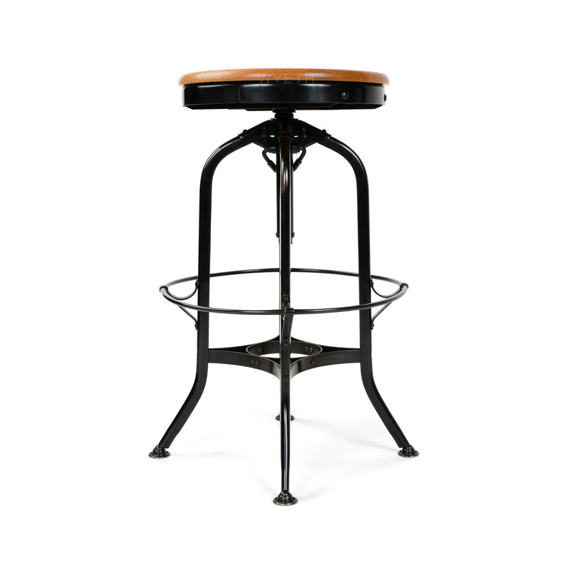 Adjustable-Height Stool