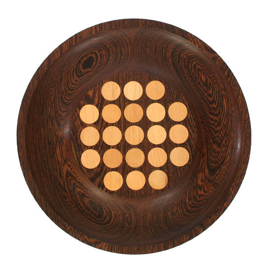 Dotted Wood Platter